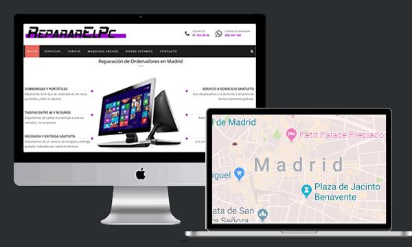 Reparación ordenadores en Madrid
