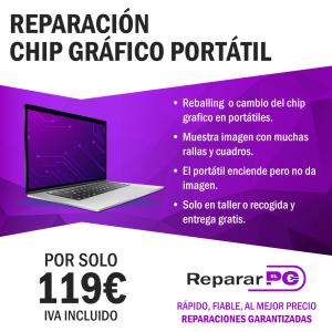 Reparación chip grafico