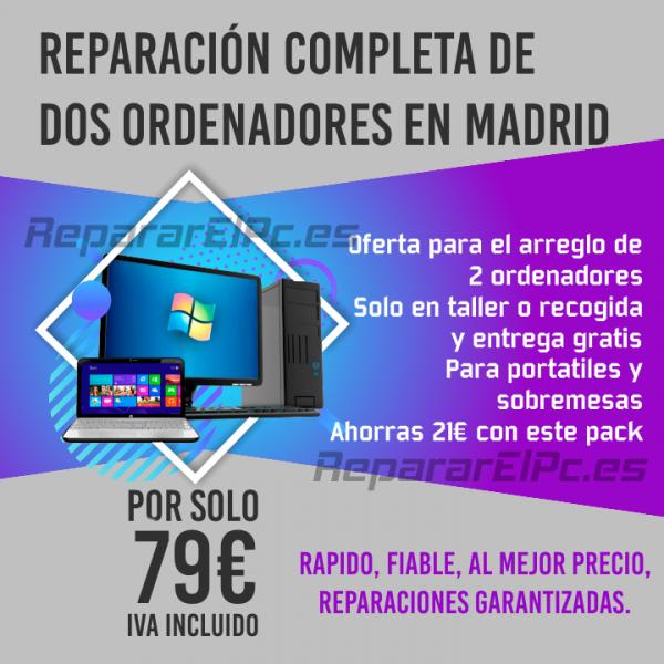 reparación 2 ordenadores