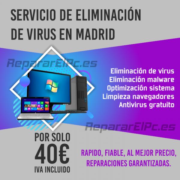 Eliminación de virus