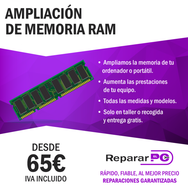 Ampliar memoria RAM