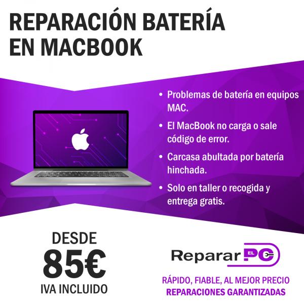 Cambio batería macbook