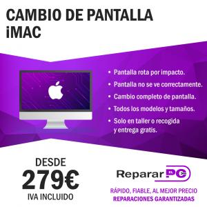 Cambiar pantalla IMAc