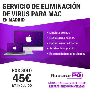 eliminar virus en apple