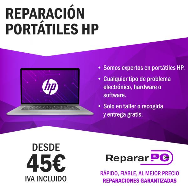 reparacion ordenadores hp