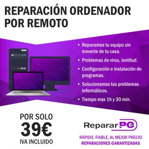 reparación remota de ordenadores
