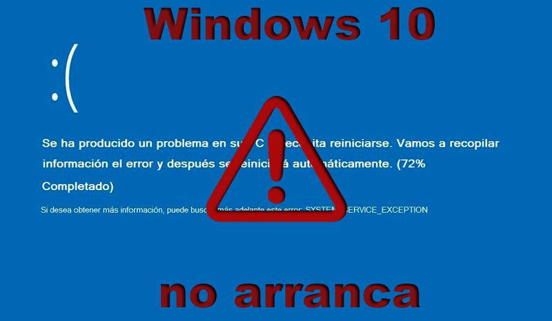 Windows no arranca